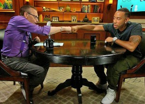 Larry King With Ludacris