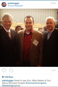 Former Governer Mike Bebee and congressman Steve Womack